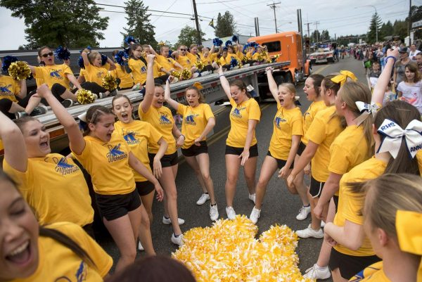 Swede Day Parade in Rochester WA June 16th 2018